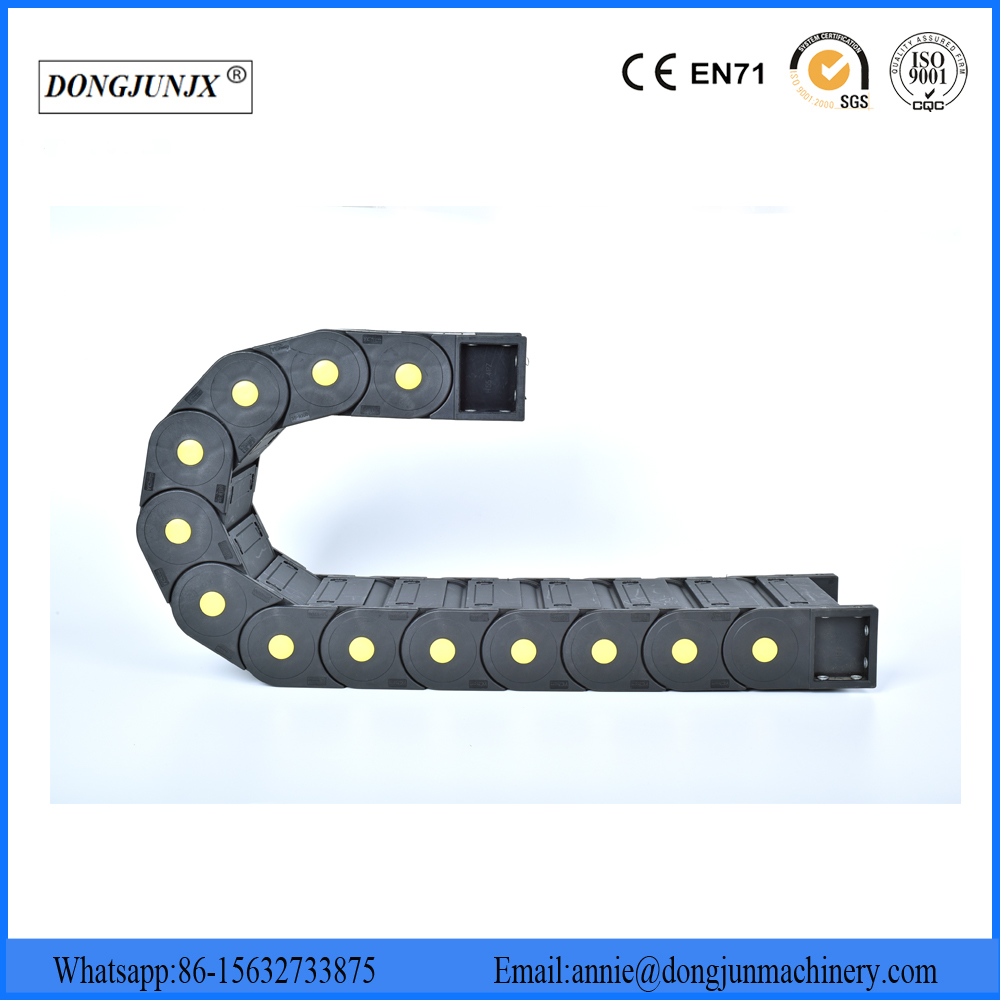 Nylon cable drag chain