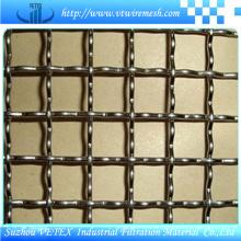 Gekräuseltes quadratisches Maschendraht benutzt für Filter