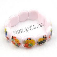 Gets.com Lampwork sos Talisman Kinder Silber Armband