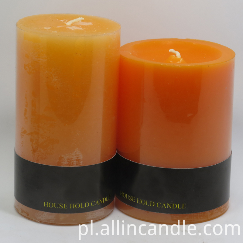 Pillar Mosquito Candle