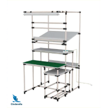 Assemble Unistrut Workbench with Lean Tube
