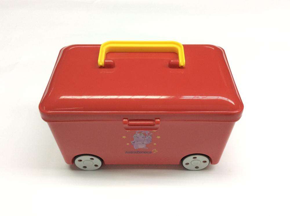 Plastic Bus Shape Storage Box