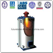 Тепловая печь с установленным двигателем