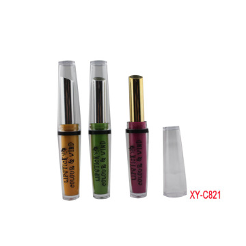 Smooth Green Lipstick Tube Packaging
