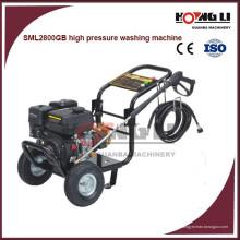 máquina de lavar de alta pressão da água fria portátil da gasolina, feita em China