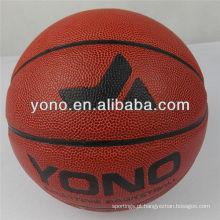 Tamanho do escritório 7 YONO marca basquete personalizado impresso bola de basquete pu couro basquete