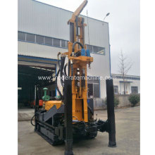 300m depth crawler track water well drilling rig