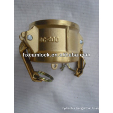 Brass dresser camlock coupling type DC