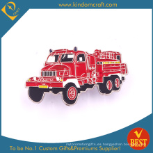 Fire Loading Car Pin Insignia para regalo