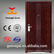 Luxury steel wood exterior turkish armored main entry door