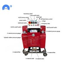 Máquina de alta pressão do equipamento de telhadura da espuma do pulverizador