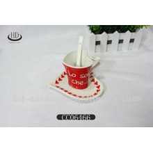 Taza de café de cerámica pequeña