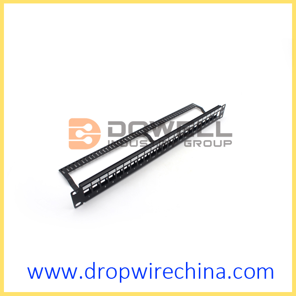 24 Port Unloaded Patch Panel