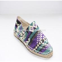 2015 usine directe Canvas chaussures décontractées pour femmes chaussures décontractées pour femmes importées