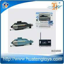2014 Mais novo 6ch mini submarino de controle remoto, brinquedo submarino rc H134800