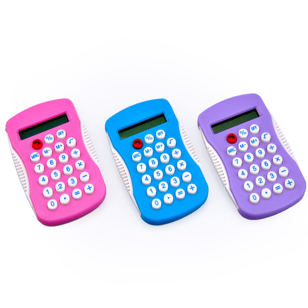 Standard Function Color 8 Digit Electronic Calculator