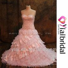 RSW289 vestido de novia con bordes