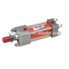 Serie de la placa de HOB40, HOB50, HOB63, HOB80, HOB100, HOB125, HOB160, HOB200, HOB250 cilindro hidráulico