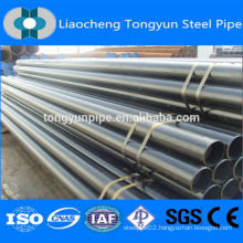 ERW round section carbon steel pipe