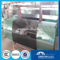 8мм 10мм 12mm ясное алюминиевые раздвижные межкомнатные двери из закаленного стекла