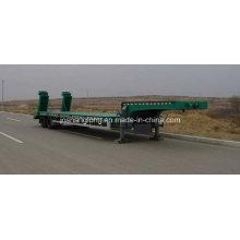 Zwei Achsen Low-Plate Sattelauflieger
