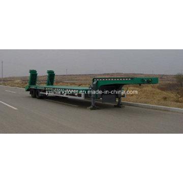 Two Axle Low-Plate Semi-Trailer