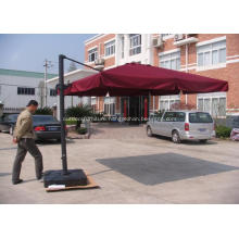 Outdoor Aluminium Square Hanging Roman Umbrella
