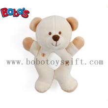 """7 """"pelúcia bege urso animal brinquedo titular do bebê"""
