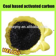 Carvão ativado a base de carvão granulado de baixa cinza para tratamento de água