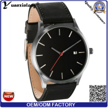 Yxl-108 2016 Hot Fashionable Canlendar Date Watch Luxury Businessman Men′s Wrist Watch Quartz Fashion Custom Mens Watches