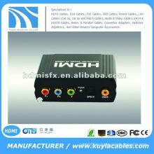 YPbPr SPDIF al convertidor de HDMI (un YUV + YPbPr + YCbCr y SPDIF (coaxial óptico) señal de entrada convertir a un HDMI)