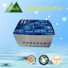 Venta directa de la fábrica de Dongguan Papel de la buena calidad A4 de la copia en precio bajo