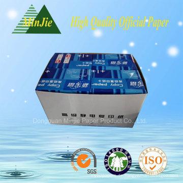 Dongguan Fabrik Direktverkauf Gute Qualität A4 Kopierpapier in niedrigem Preis