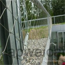 Maille flexible de corde d'acier inoxydable pour la sécurité de jardin