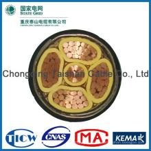 Хорошее качество PVC / XLPE Материал Силовой кабель cctv