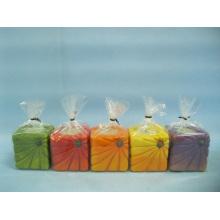Abóbora candlestick forma cerâmica artesanato (loe2366b-5z)
