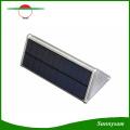 2016 Nueva 48 LED Luz Solar Al Aire Libre Sensor de Radar de Microondas Impermeable Ahorro de Energía de La Pared, Luces Solares para la Decoración Del Jardín