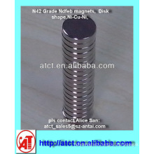 Strong Neodymium Disk Magnets for Clothing, for jewelry