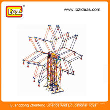 LOZ estrella rueda de ferris bloques de construcción juguetes
