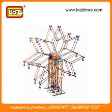 LOZ star roues motrices blocs de construction jouets