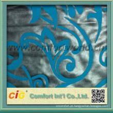 tecido de flocagem para cobertura de assento de ônibus / carro