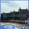 Modular pontoons for marine construction