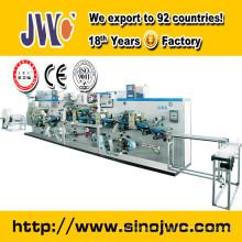 Новая линия по производству молочных прокладок для женщин с сертификатом CE JWC-RD