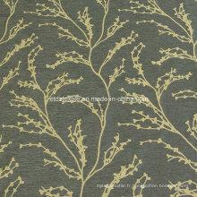 2016 Chimonanthus Fragrans Design du tissu de rideau de fenêtre