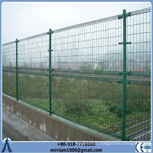 Double Loop Decorative Wire Mesh Fence For Gardens