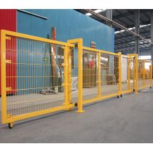 2017 Double Wire Powder Coated Welded Fence Gate