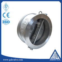 center line butterfly type check valve