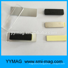 Name Badge Blanks with Strong Magnet