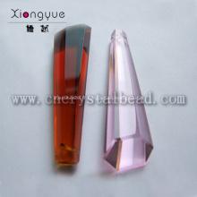 DD09 irrégulière de cristal décoratif lustre Drop