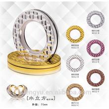 Anneaux à rideaux modernes anneaux à oeillets en acier inoxydable